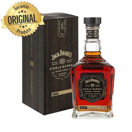 Imagem de Whisky Importado Single Barrel Garrafa 750ml - Jack Daniels