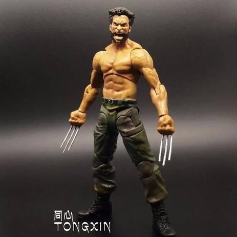 276424e02a323 Wolverine Logan Marvel Boneco Articulado X-men Pronta Entreg - Super25