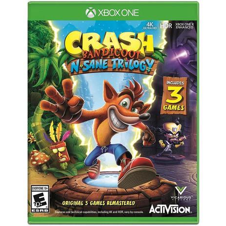 Imagem de Xbox One - Crash Bandicoot N. Sane Trilogy
