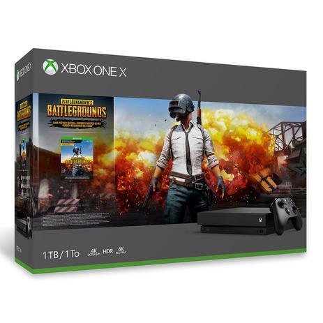 Xbox One X - 1 Terabyte + Jogo Battlegrounds - Microsoft - Consoles ... d02a7b66a2