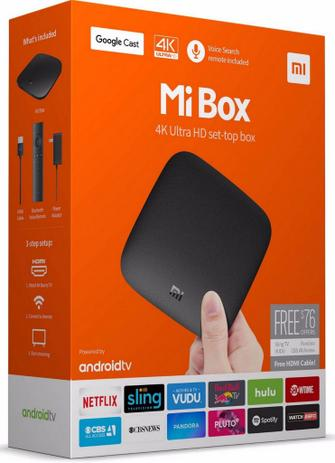 Xiaomi Mi Box S 4K HDR Android TV 8 1- Media Streaming