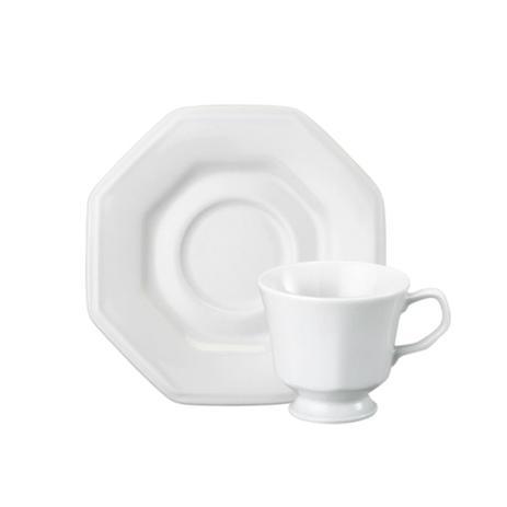 Imagem de Xícara de chá em porcelana Schmidt Prisma 200ml