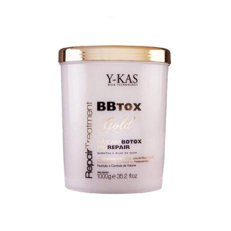 Imagem de YKAS BBTox Gold Pro Repair - Máscara de Alinhamento Capilar 1Kg