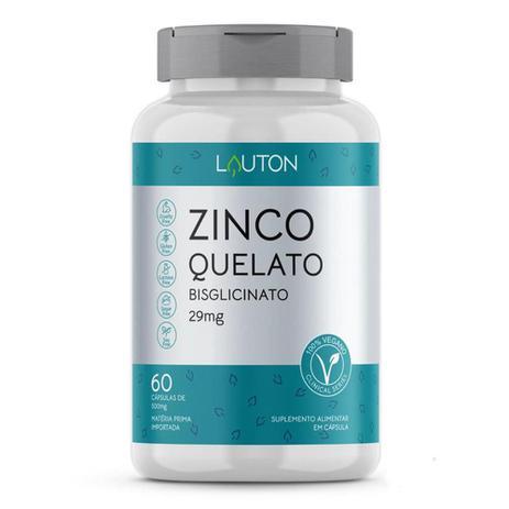 Imagem de Zinco Quelato Bisglicinato 60 cápsulas Lauton