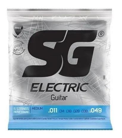 Imagem de ZKIT Encordamento Sg Guitarra Eletrica 011 tensao media