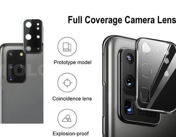 Imagem de 02 Películas Nano Gel Flexível P/ Lente de Câmera Samsung Galaxy S20+ Plus 6.7