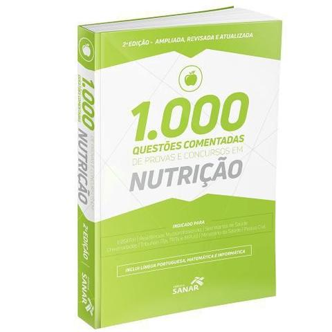 Imagem de 1.000 Questões Comentadas Nutrição 2ª Edição