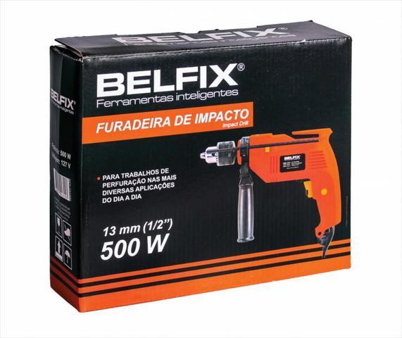 Imagem de 1 FURADEIRA DE IMPACTO 1/2 500W BELFIX BTX Com Reversível