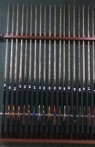Imagem de 1 Taco 3/4 Profissional Ash Rosca Metal Prolongador Sinuca