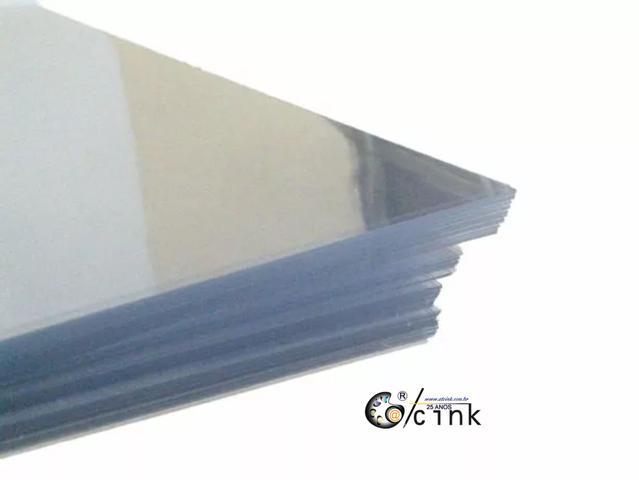 Imagem de 10 Folhas De Acetato Transparente  25 Micra A4