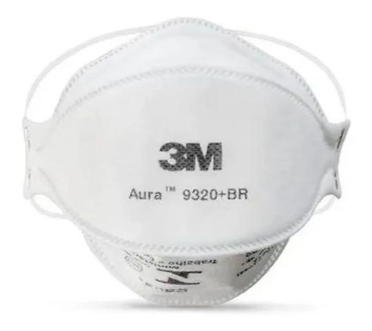 Imagem de 10 Proteção Respiratoria 3M Aura 9320 + Br PFF2 N95 Embalagem Individual