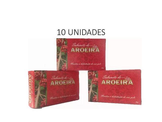 Imagem de 10 Sabonetes De Aroeira + 1 Sabonete Surpresa