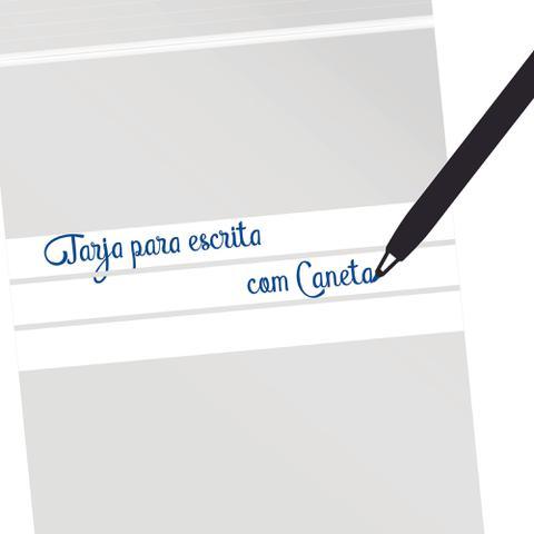 Imagem de 100 Saquinhos Zip Lock 12 x 17 cm