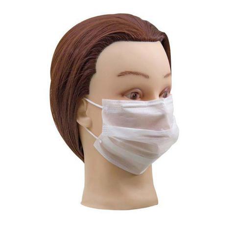 Imagem de 100 uni máscara descartável c/ elástico santa clara