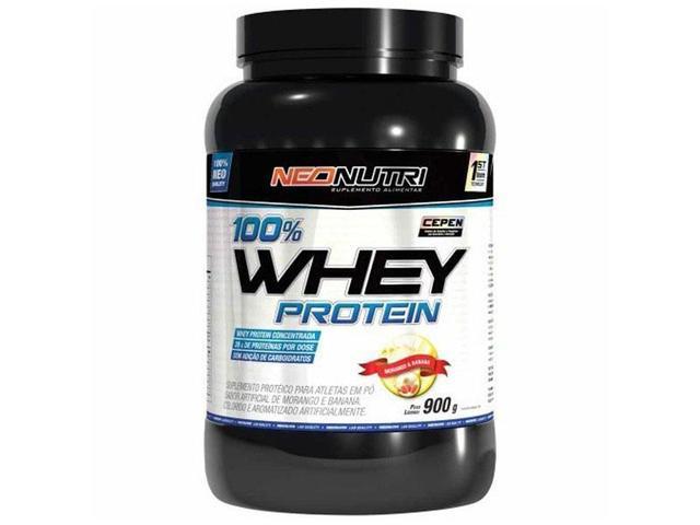 Imagem de 100% Whey Protein Chocolate 900g