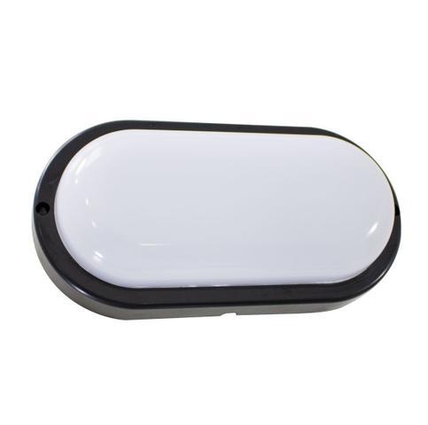 Imagem de 10X arandela tartaruga LED 12W Preta luminária externa 3000k Branco Quente bivolt ST607