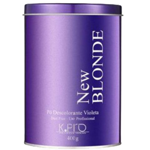 Imagem de 12 Pó Descolorante Violeta New Blonde Kpro 400g