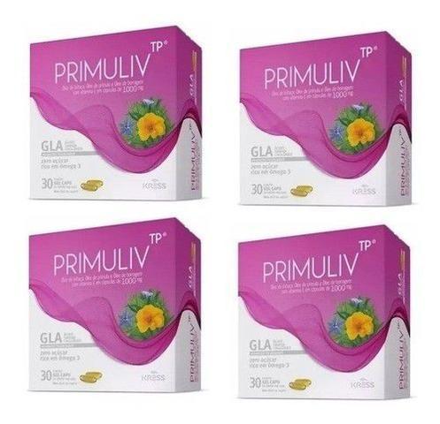 Imagem de 12 Primuliv (óleo De Prímula, Linhaça,vit.e)30cap Borragem