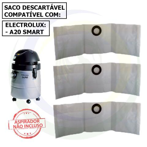 Imagem de 12 Saco Descartável para Aspirador de Pó Electrolux A20 Smart