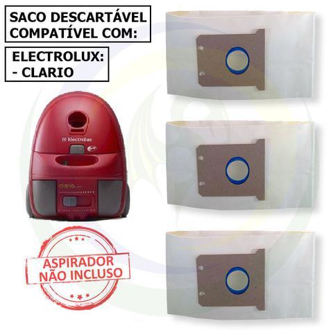Imagem de 12 Saco Descartável para Aspirador de Pó Electrolux Clario
