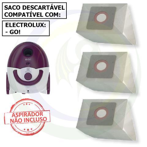 Imagem de 12 Saco Descartável para Aspirador de Pó Electrolux Go!