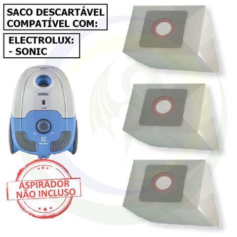 Imagem de 12 Saco Descartável para Aspirador de Pó Electrolux Sonic