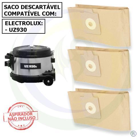 Imagem de 12 Saco Descartável para Aspirador de Pó Electrolux UZ930