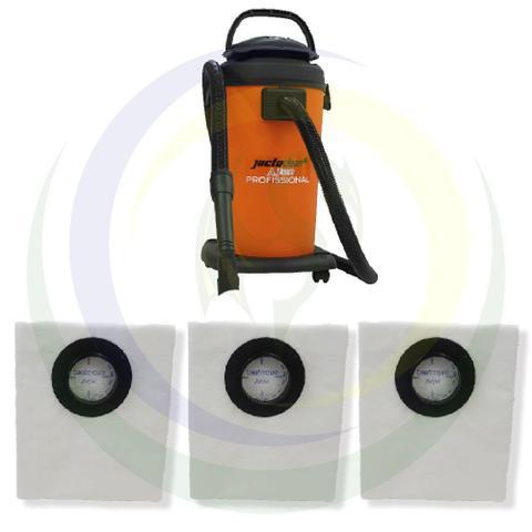 Imagem de 12 Saco Descartável para Aspirador de Pó Jacto Clean 20L AJ3230