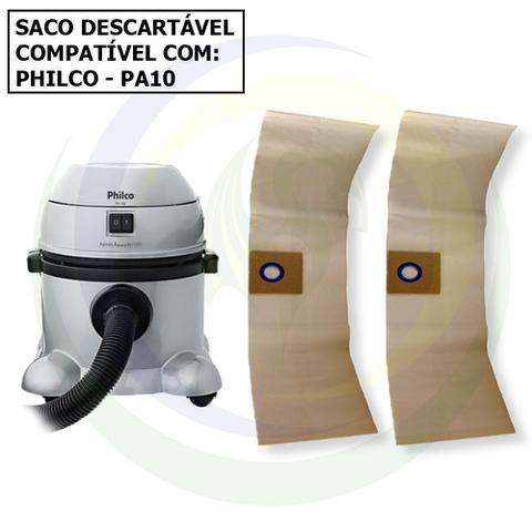 Imagem de 12 Saco Descartável para Aspirador de Pó Philco PA 10