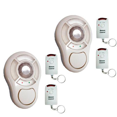 Imagem de 2 Alarmes Sem Fio com Sensor e 2 Controles - DNI 6062
