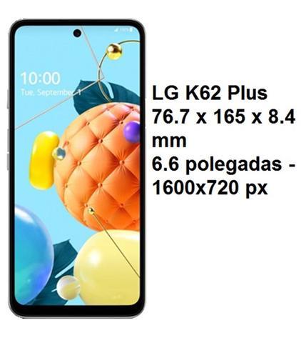 Imagem de 2 Capas Capinhas Case Anti Shock e 2 Películas de Vidro 3D Para LG K62 6.6 / LG K 62 Plus 6.6