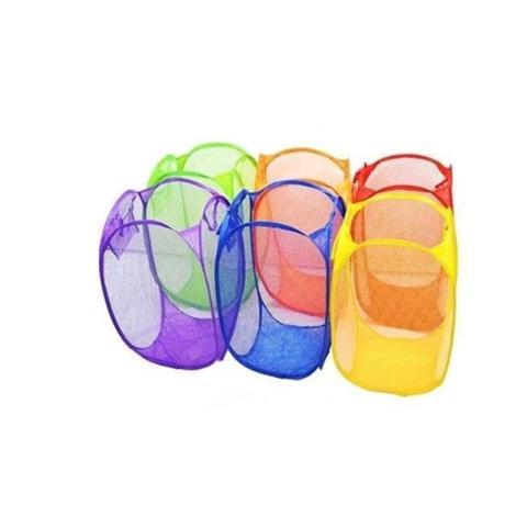 Imagem de 2 Cestos Organizadoes Porta Treco Multiuso Roupa Brinquedos