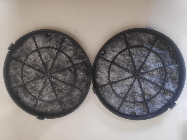 Imagem de 2 Filtros de carvão ativado para Depurador Suggar Slim com 16,5cm