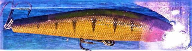 Imagem de 2 Iscas Artificial 3D Tucunaré Robalo Dourado Meia Água