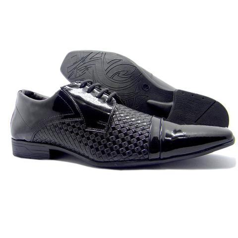 2b6683cd7e Imagem de 2 Sapatos Sociais Masculino Aberdeen Preto Verniz E Normal