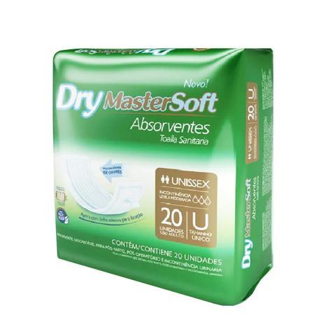 Imagem de 200 Absorventes Geriátrico Dry  10 Pacotes Com 20