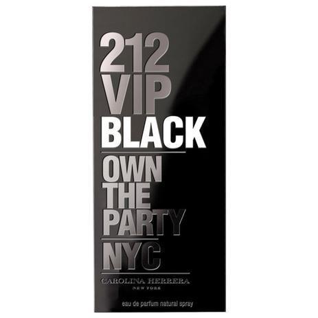 Imagem de 212 VIP Black  Eau de Parfum  Masculino 200ml