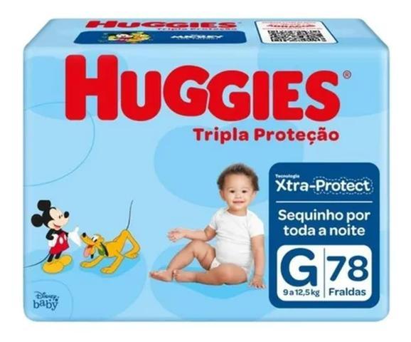 Imagem de 234 Fraldas Huggies Tripla Proteção Tamanho G