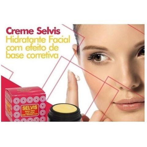 Imagem de 2X Creme Selvis Hidratante Facial com Base Corretiva Rugol
