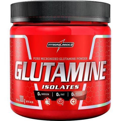 Imagem de 2x glutaminas Glutamina Pura Isolates 300g - Integral Medica