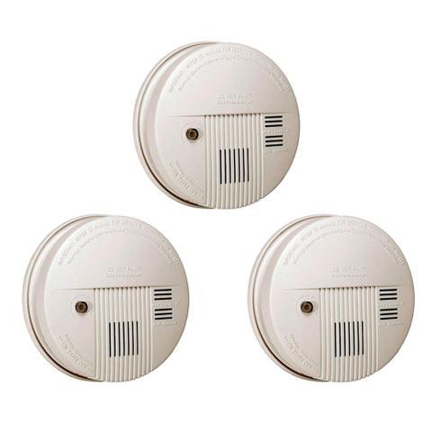 Imagem de 3 Detectores de Fumaça com Alarme - DNI 6915