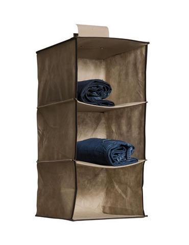 Imagem de 3 Organizador Vertical Para Closet Roupas Sapatos 3
