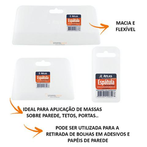 Imagem de 3 Peças Espátula Remove Bolhas em Adesivos/ Papel de Parede