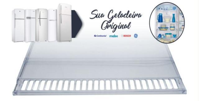 Imagem de 3 Prateleiras Acrílica Refrigerador Geladeira Bosch Copacabana