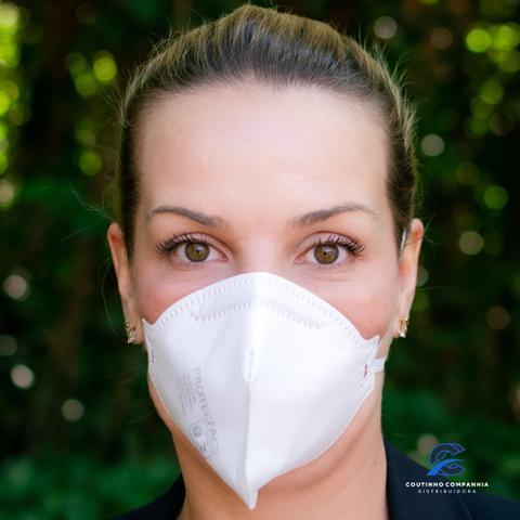 Imagem de 30 Máscaras ProtecFace com certificado Inmetro (ca 43.740) embalagem individual e lacrada n95