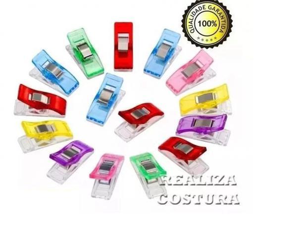 Imagem de 30 Mini Prendedor Clips Wonder Prender Tecidos Colorido