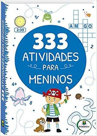 Imagem de 333 atividades para meninos