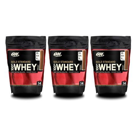 Imagem de 3x 100% Whey Gold Standard 1 lb - Optimum Nutrition