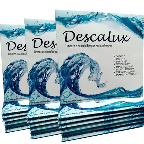 Imagem de 3x Descalcificante Descalux Nespresso Dolce Gusto Tres Corações Oster Jura Saeco DeLonghi e Outras