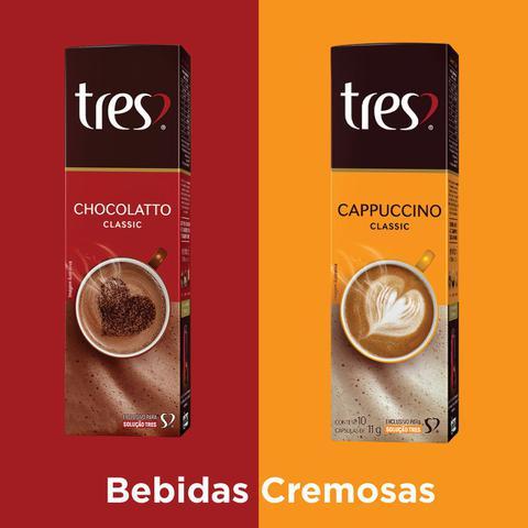 Imagem de 40 Cápsulas Café Expresso e Bebida Cafeteira Três Corações